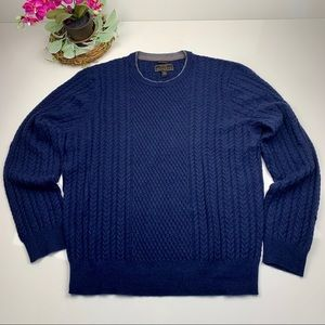Jos A Bank 100% Cashmere Sweater size XXL
